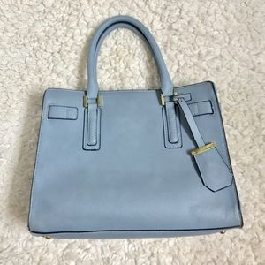 Merona Light Blue Satchel